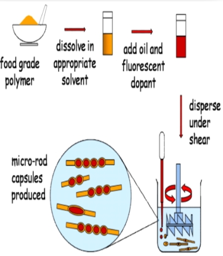 microropds with liquid compartments