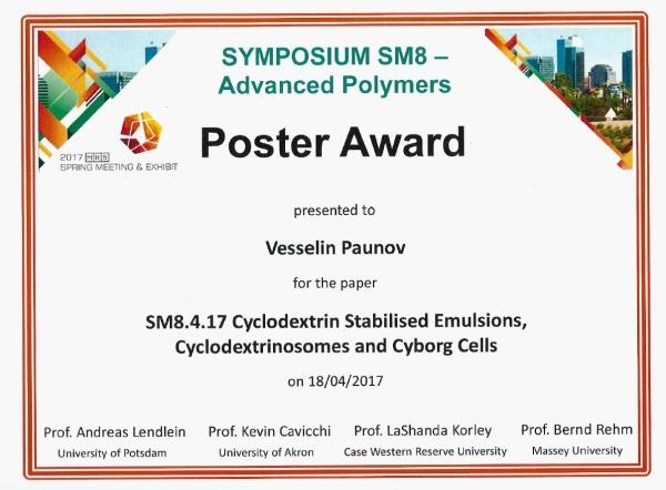 MRS poster award 2017