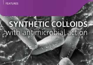 Syntheic colloids with antimictobial action